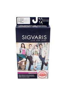 Meia Calça Sigvaris Select Comfort Premium 20-30 Mmhg G (Tamanho Grande) Normal, Cor Natural, Ponteira Aberta