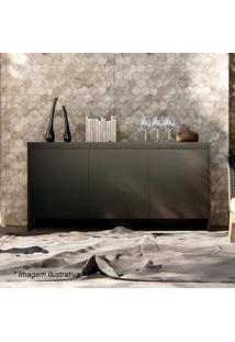 Buffet Madrid- Preto- 78X160X46Cm- Casa Dcasa D