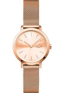 1bfef8503 R$ 790,00. Vivara Relógio Feminino Aço Lacoste 2001051 - Rosé