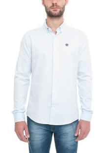 Camisa Manga Longa Slim Rattle River Oxford