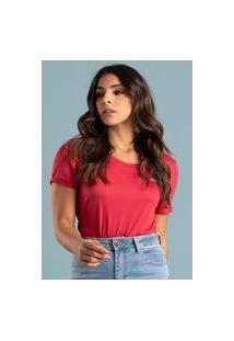 T-Shirt Its&Co Lika Vermelho Garnet