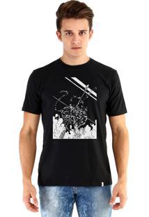 Camiseta Ouroboros Tigre Preto
