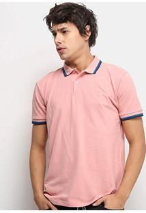 Camisa Polo Colcci Masculina - Masculino-Rosa