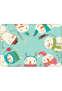 Tapete Sala Wevans Cute Merry Christmas Único Love Decor