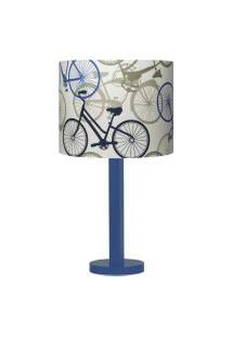 Abajur Carambola Bikes Iii Azul