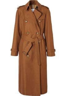 Burberry Trench Coat 'The Waterloo' - Marrom