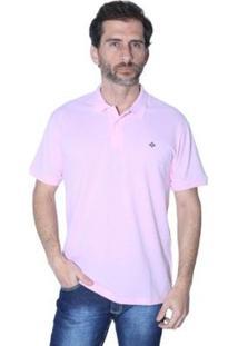 Camisa Polo Mister Fish N·Utico Masculina - Masculino-Rosa