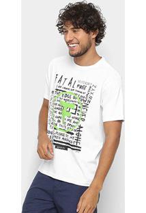 Camiseta Fatal Estampada Masculina - Masculino