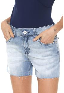5d5d38490 ... Short Jeans Lez A Lez Básico Azul