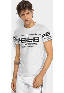 Camiseta Rg 518 Meia Malha Estampada Masculina - Masculino