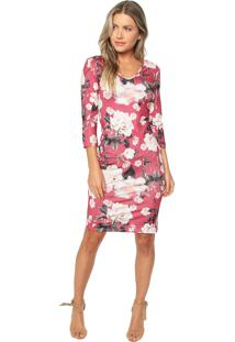 70e64eb224 ... Vestido Lança Perfume Curto Floral Rosa Branco