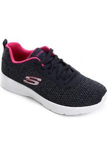 Tênis Skechers Dynamight 2.0-Quick Concept Feminino - Feminino-Marinho+Pink