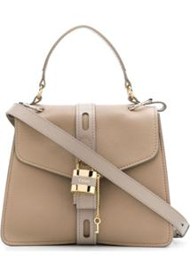 Chloé Aby Shoulder Bag - Neutro
