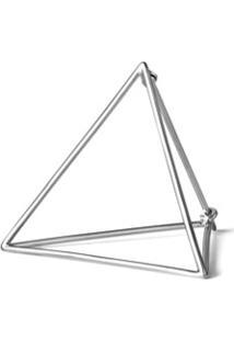 Shihara Par De Brincos 'Triangle 30' - Metálico