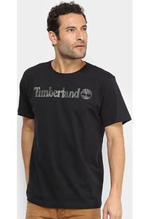 Camiseta Timberland Dunstan River Camo Print Brand Masculina - Masculino