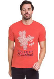 Camiseta Laranja Hangar