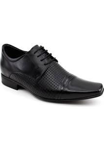 Sapato Jotape Grow Air + 6,5Cm Masculino - Masculino-Preto