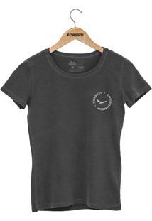 Camiseta Forseti Estonada Enviroment Chumbo - Kanui