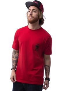 Camiseta Zero Vodu Skull Masculina - Masculino