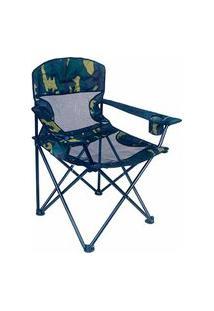 Cadeira Dobrável Fresno Poliéster Oxford Aço Pvc 290520 Ntk