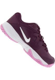 Tênis Nike Court Lite 2 Feminino Vinho