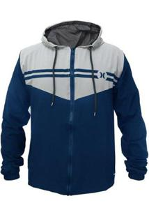 Jaqueta Corta Vento Hurley Stripe - Masculino