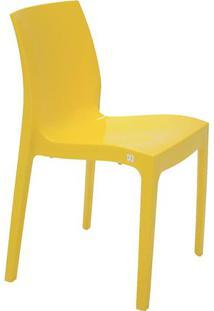 Cadeira Alice- Amarela- 81X51X50,5Cm- Tramontinatramontina