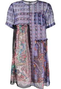 Liberty London Vestido Dina Dahlia - Azul