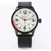 b2242f9607c Relógio Curren Analógico - Masculino-Branco
