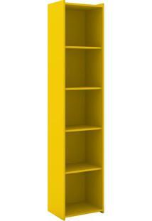Estante Biblioteca- Amarela- 182X40X30Cmmovel Bento