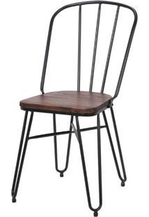 Cadeira Iron Steel Preta - 81 Cm (Alt) - 47068 Sun House