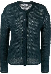 Filippa K Cardigan De Lã Mohair - Verde