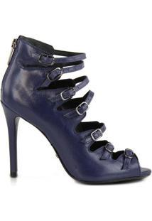 Sandália Fivelas Azul | Schutz