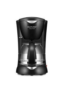 Cafeteira Elétrica Multilaser Gourmet 220V 200W Capacidade De 15 Xícaras + Colher Dosadora + Filtro Permanente Preta - Be02 Be02
