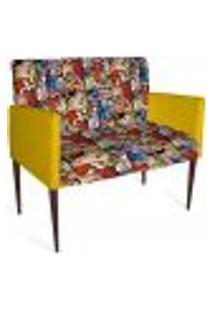 Cadeira Decorativa Mademoiselle Plus 2 Lug Imp Digital 123