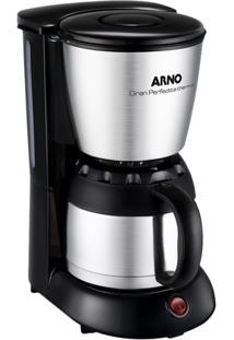 Cafeteira Elétrica Arno Inox E Preta Gran Perfectta Thermo - 220V