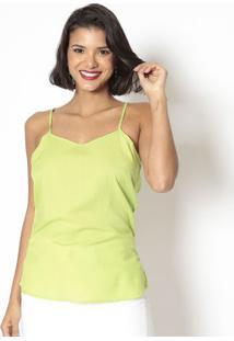 Blusa Lisa - Verde- Doctdoct