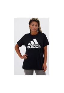Camiseta Adidas Must Haves Feminina Preta