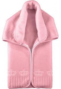 Baby Sac - Cobertor Premium Coroa Rosa