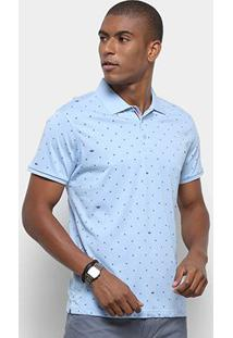 Camisa Polo Watkins & Krown Masculina - Masculino-Azul