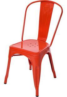 Cadeira Tolix Laranja - 51977 - Sun House