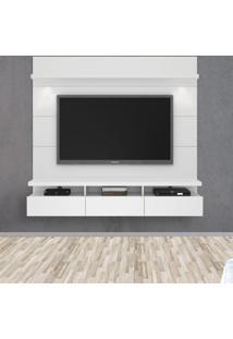 Painel Para Tv 60 Polegadas Horizon 3 Gv Branco Gloss 181 Cm