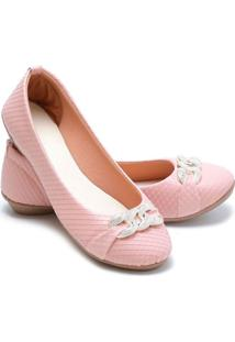 Sapatilha Feminina Estilo Shoes Ga720 Rosa - Rosa - Feminino - Sintã©Tico - Dafiti