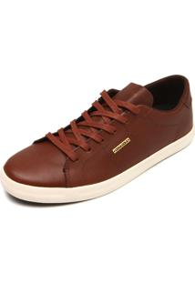 Sapatênis Couro Coca Cola Shoes Canion Marrom