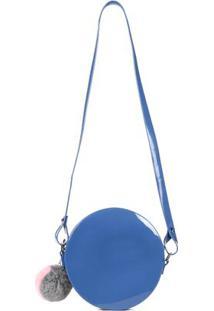 Bolsa Zaxy Feminina Azul