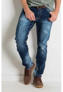 Calça Jeans Actual Com Bolsos