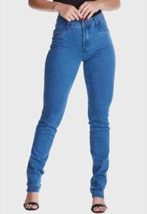 Calça Jeans Hno Jeans Skinny Stone Cleared Azul - Feminino