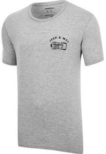 Camiseta Especial Jeep E Wsl Wrangler Trip Masculina - Masculino