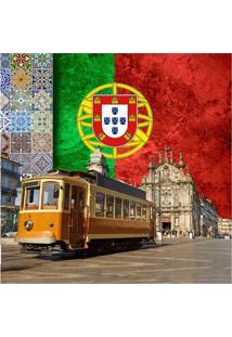 Quadro Impressão Digital Portugal 45X45