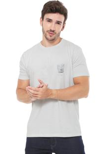 Camiseta Richards Aquarela Contemp Cinza